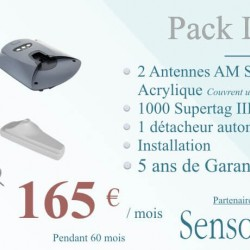 Pack antivol Luxe AM by Sensormatic