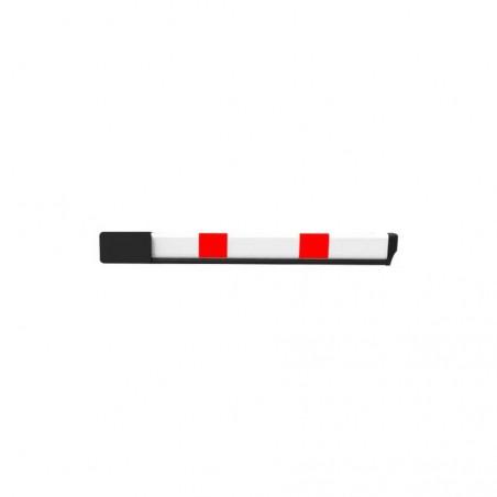 Bras télescopique pour barrière avec capteur de choc
