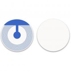 Etiquette antivol RF ronde 4