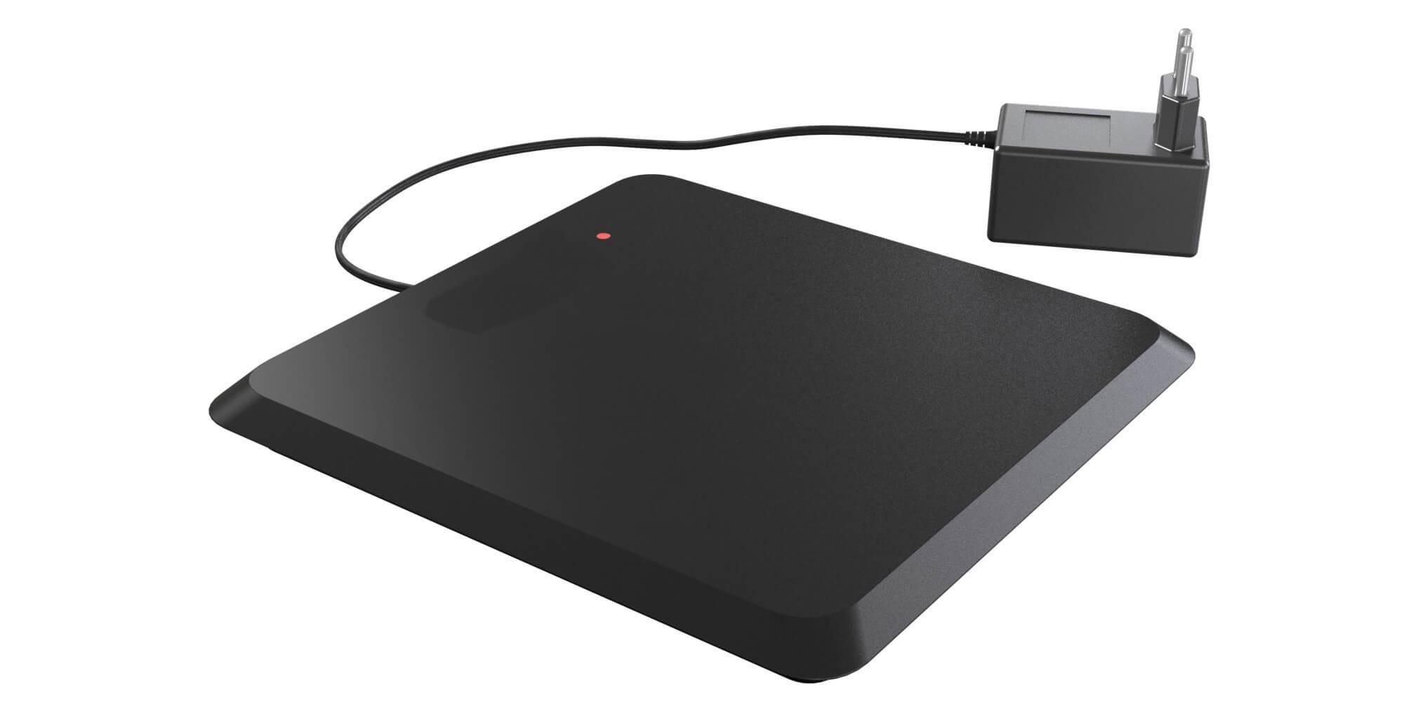 Plaque de désactivation RF avec électronique intégrée